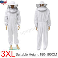 Beekeeper Protection Bee keeping Suit Safe Veil Hat All Body Equipment Hood