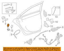 GM OEM Front Door-Striker Cover 13574802