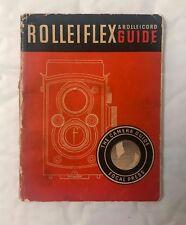 Rolleiflex & Rolleicord, Focal Press Guide.17th Edition 1949
