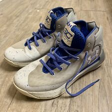 Under Armour Steph Curry 3 Zero Basketball Shoes Size 9 Team Royal High Top EUC