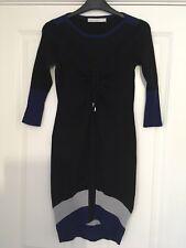 BNWT Karen Millen Black Knit Dress UK Size 1