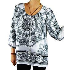 Tunic, Kaftan Polyester Paisley Tops & Shirts for Women