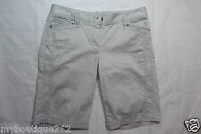 WHITE HOUSE BLACK MARKET GRAY CASUALSHORT SIZE 2 NEW WITH TAG