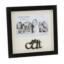 Juliana Black Shadow Box Photo Frame - Cat  NEW Cat Lovers Gift   20068