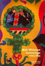WALT WHITMAN HOM(M)AGE 2005/1855 - TURTLE POINT PRESS / ÉDITIONS JOCA SERIA 2005