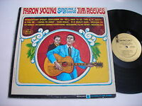 PROMO Faron Young Sings the Best of Jim Reeves 1966 Mono LP VG++