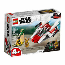 75247 Lego Star Wars Rebel A-Wing Starfighter 62 Pieces Age 4+ New Release 2019!