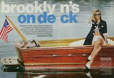 Brooklyn Decker 7pg GLAMOUR magazine feature, clippings