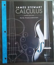 Calculus: Early Transcendentals 8th Edition,James Stewart, looseleaf,no code