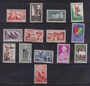 stamps Algeria  unused  semipostal