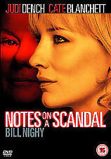 Notes On A Scandal (DVD, 2007)  New and Sealed Region 2 UK