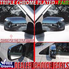 For 2008-2013 NISSAN ROGUE 2014-2015 ROGUE SELECT Chrome Mirror COVERS no Cam