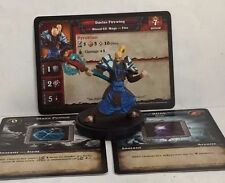DAELAS FIREWING  World of Warcraft WOW Miniatures Game RARE CORE  x3 cards