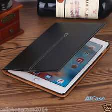 Luxury Leather Folio Stand Wallet Smart Cover Case for Apple iPad Pro 9.7