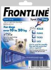 FRONTLINE MSD0409 Medium Dogs (10-20 Kg) Spot-On Treatment - 1 Pipette