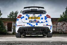 "SSXFD184 - Ford Focus RS Mk3 Milltek Cat Back Non Res 3"" Exhaust - Black"