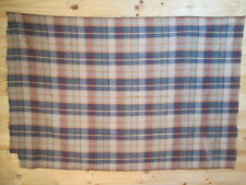 Length of checked cotton fabric