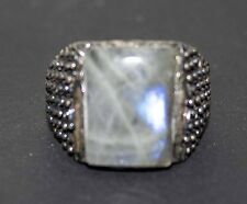 Sterling Silver 925 men ring ,interesting,labradorite natural gemstone