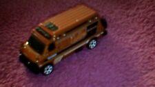 Matchbox - 1-125 - Unboxed - #102 '95 Custom Chevy Van - M/Copper - Tyre on Rear