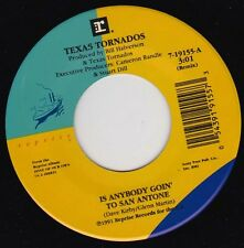"TEXAS TORNADOS - Is Anybody Goin' To San Antone 7"" 45"
