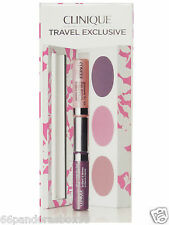 CLINIQUE 2x Eyeshadow 2x Glosswear Lip Gloss & Powder Blusher Palette BOXED NEW!