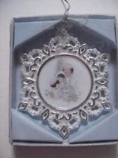 Vintage Precious Moments Snowflake Ornament 354694 Nib Collectible - Nice!