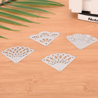 Corner Metal DIY Cutting Die Stencil Scrapbook Album Paper Card Embossing Craft