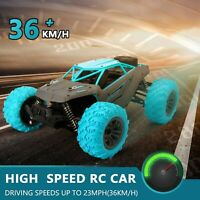 Remote Control Trucks Monster Car 1: 14 RC Car 2.4GHz 4WD Rock Crawler Gift Toy