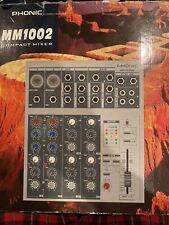 Phonic Mm1002 Compact Mixer
