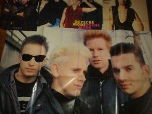 Poster, Heftposter und clippings von den Depeche Mode