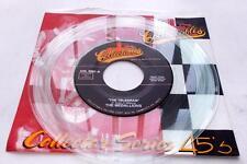 The Medallions The Telegram 1955 Doowop Reissue Unplayed Clear Vinyl 45rpm NM