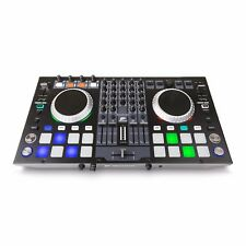 JB Systems USB DJ Kontrol 4 DJ Midi Controller Inkl. VirtualDJ WIN 10 Mac OS