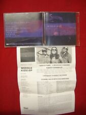 MIDDLE KIDS ~ EDGE OF TOWN (EP+RADIO MIX) + 5  2017 US  7 TRACK PROMO CD MINT-