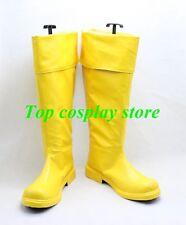 Captain Marvel Shazam William Joseph Billy Batson Cosplay Boots shoes shoe boot