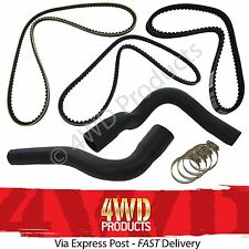 Radiator Hose & Belt SET - for Nissan Patrol MQ MK 3.3 SD33 SD33T (80-88)