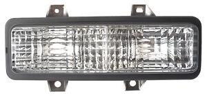Corner Signal Light for 89-91 Chevy Truck/Suburban/Blazer Driver Left