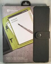 Booqpad Agenda for iPad 2, 3 & 4 - Gray/Green - New - Booq iPad Case