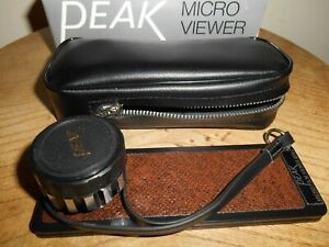 PEAK MICRO VIEWER 20X