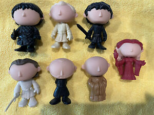 funko pop mystery minis  PROTO game of thrones lot Of 7