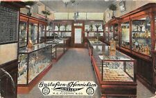 F50/ Omaha Nebraska Postcard c1910 Gustafson & Henrickson Jewelry Store Interior