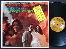 IKE & TINA TURNER River Deep Mountain High LP A&M SP-4178 Orig US 1969 SOUL FUNK