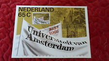 Carte maximum Maximumkaart met no.1260 350 Jaar Universiteit van Amsterdam 1982