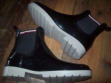 TOMMY HILFIGER Gummistiefel/Chelsea Boots/Rain Boots Gr. 39 schwarz NEU NEU