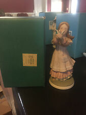 """Rare Vintage Holly Hobbie Figurine """"The Hearts Treasures"""" Limited Edition 20,000"""