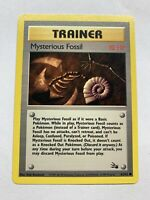 Pokemon - Mysterious Fossil - Fossil 62/62 1st Edition - Common - LP