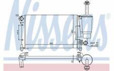 NISSENS Autokühler für FIAT PANDA 617853 - Mister Auto Autoteile