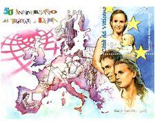 Vaticano 2007 Foglietto Trattati di Roma MNH**