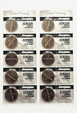 10 CR2025 Energizer Lithium Coin Batteries (2 packs of 5) - New