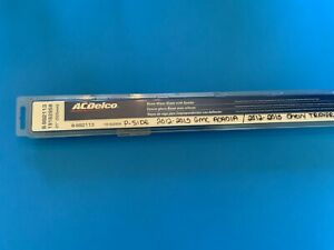 Windshield Wiper Blade-Beam ACDelco Pro 8-992113 / GM 19162958