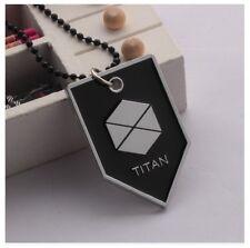Destiny Game Titan Class Symbol Logo Metal Dog-Tag Pendant and Chain Necklace